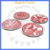 Tradational chinese arts and crafts coasters