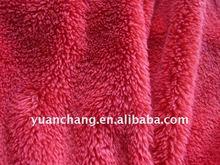 weft knitted fabric ,short pile ,teddy bear fleece