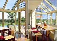 insulated sunshine hut glass