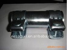 auto exhaust muffler clamp