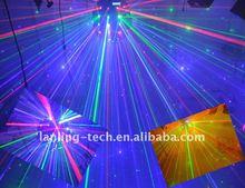 13.35W DJ RGB Beam-storm Spinning Laser Ball light