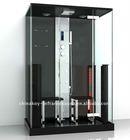 Double black infrared steam combination shower K072