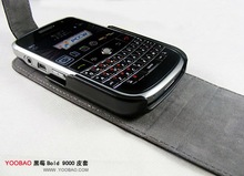 Genuine Leather Case for Blackberry bold 9000