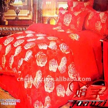 Red comforter sets queen size