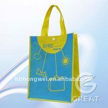 high quality non-woven shopping bag / folding shopping bag