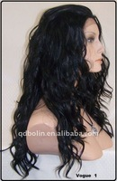 HOT GIRL LACE FRONT LOOSE CURL SUPER LONG BLACK WIGS