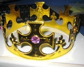 Fiesta de la moda corona de rey ( bsc - 0500 )