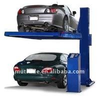 PJS Hydraulic Cheap One Post Car Parking Lift Facility