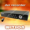 l'ENREGISTREUR de 4CH h264 DVR, 4ch DVR soutient la surveillance du mobile 3g