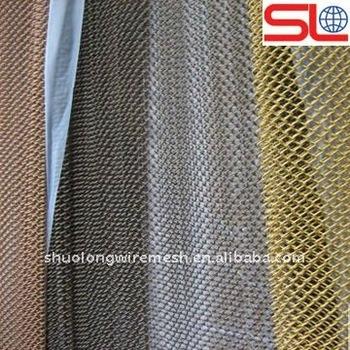 colored decorative metalic drapery curtains