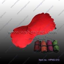 Automatic inflatable pillow/ bone shape neck pillow/ travel pillow
