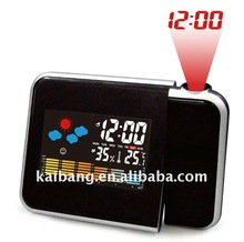 LCD Clock with projector