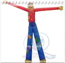 {Qi Ling}2-leg sky dancer inflatable cartoon for kids