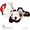 Bebé de peluche oso, panda de peluche