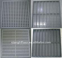 All steel manual welding Air-Flow Raised Access Floor