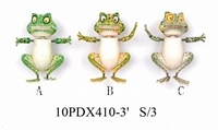 Favorable cartoon frog magnet souvenir gift free sample