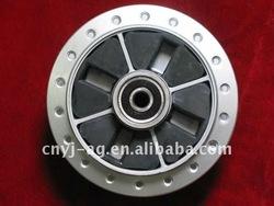 motorcycle rear wheel hub YJ100-5 (Ag factory) from Chongqing of China