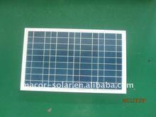 Polycrystalline solar panel for 15W
