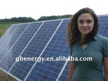 residential solar panel of system