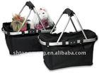 Mesh Top Basket - shopping, picnic or pet carrier