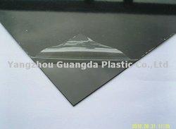 Opaque black PVC sheets