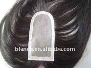 Men's toupee mono filament lace