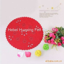 Attractive modern felt table mat for Christmas decoration gift