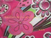 Cotton spandex printed fabric for underwear and lingerie