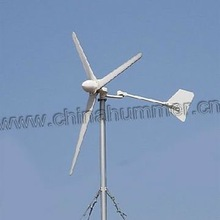 Wind power with solar panel complementary 1kw wind turbine generator for domestic