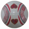 Machine stitched size 5,8 panels promotional pvc soccer ball,football