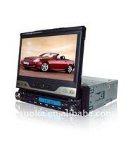 Mini Single Din in dash motorized TFT-LCD DVD Player