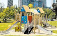 Fantastic Funny Children Amusement Park Equipment Wood Sliding Puzzle
