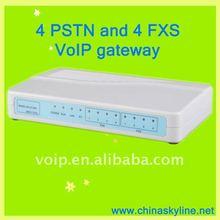 4FXS+4PSTN /asterisk blocking voip gateway WAN / LAN connections