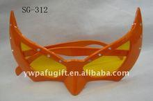 orange carnival party sunglasses