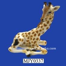 resin giraffe figure