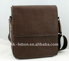 Hot sale Fashion Men's Portable leather handbag