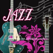 jazz instrument canvas printing art
