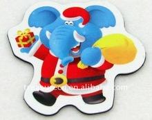 Souvenir and Funny Shaped Plastic 3D Soft PVC Fridge Magnet