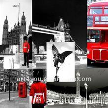 flourishing city of England canvas print