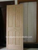 Engineered veneer door