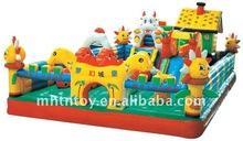 AMAZED! Safety Inflatable Children Playground Fun City