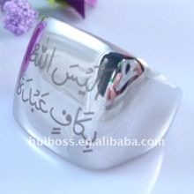 fashion steel ring male jewelry