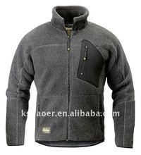 2012 men's reflective casual Fleece insulating jackets