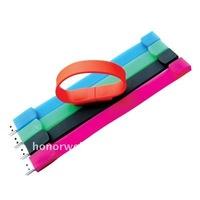silicon bracelet gift usb flash memory