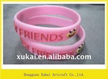 hot 100% silicone wrist straps
