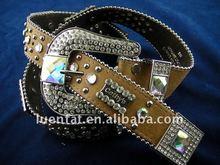 ladies' rhinestone pu belt,shiny rhinestone belt,women belt