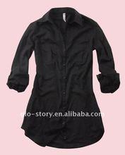 black ladies blouses