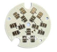 Aluminum PCB,LED PCB,Write solder with 1oz copper PCB