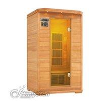Single person Carbon Fiber heater Infrared Home Sauna FIS-01LC