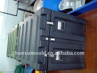 rotational mould plastic Tool box ,transit case making